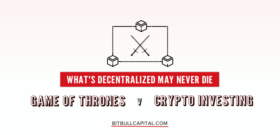 Game of Thrones vs Crypto Investing: With Bitcoin rising in 2019, Is Winter Over?