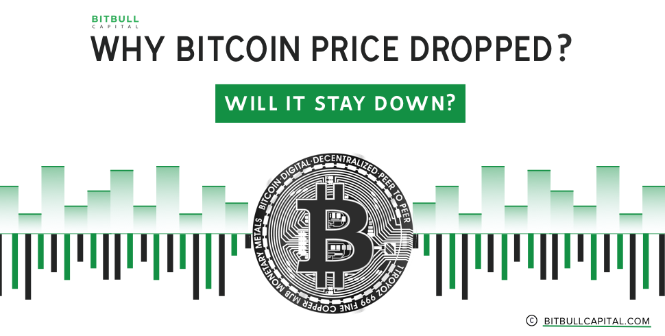Reasons Why Bitcoin Price Dropped; Will it Stay Down?