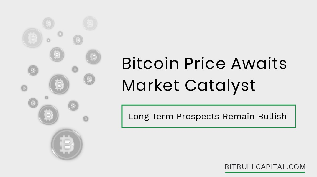 Bitcoin Price Awaits Market Catalyst; Long Term Prospects Remain Bullish
