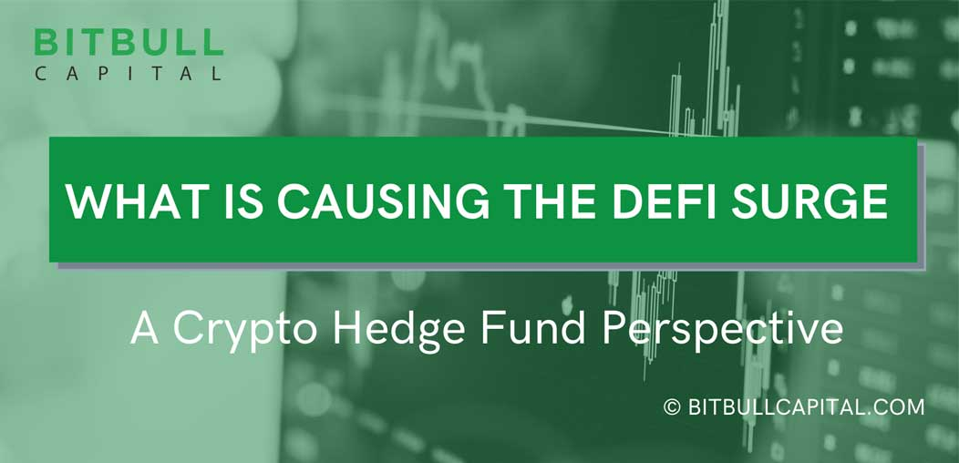 What is causing the Defi surge? A crypto hedge fund perspective