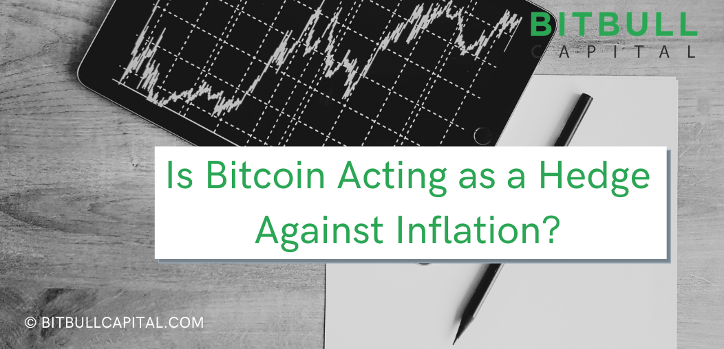 Is Bitcoin acting as a hedge against inflation?